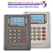 Hệ thống kiểm soát ra vào - chấm công thẻ cảm ứng AR-829E-V5